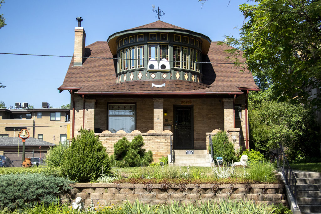 Gary L. Johnson's home in Washington Park West, July 23, 2019. (Kevin J. Beaty/Denverite)