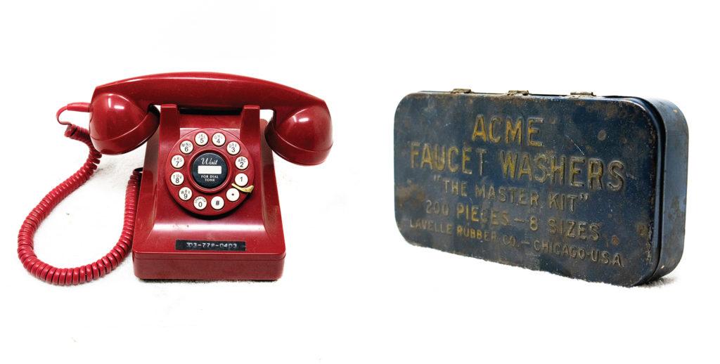 Two items left in Gary Johnson's home. (Kevin J. Beaty/Denverite)