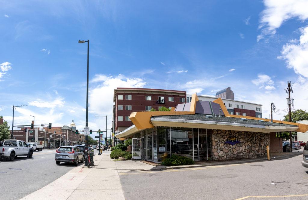 Tom's Diner on East Colfax Avenue, July 25, 2019. (Kevin J. Beaty/Denverite)