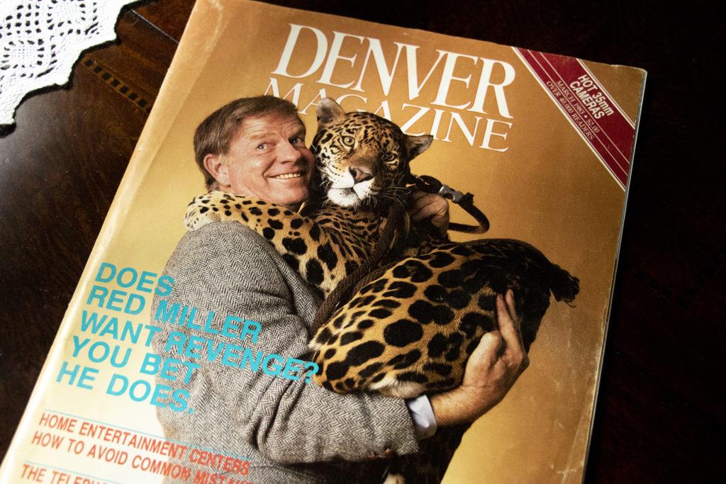 Mark Kiryluk's cover shot of Red Miller for Denver Magazine. Aug. 26, 2019. (Kevin J. Beaty/Denverite)