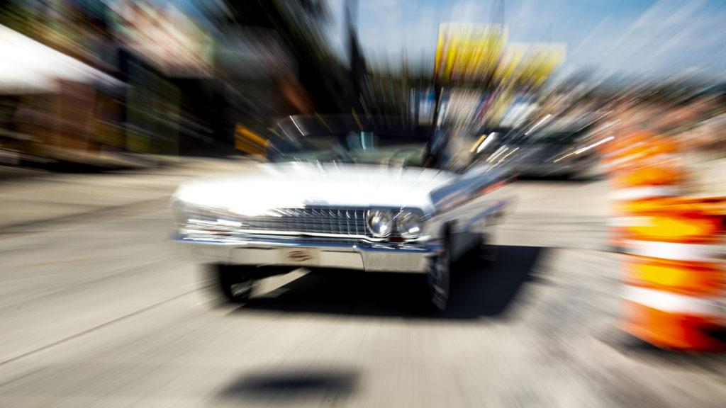A cruise down Federal Boulevard. Aug. 25, 2019. (Kevin J. Beaty/Denverite)
