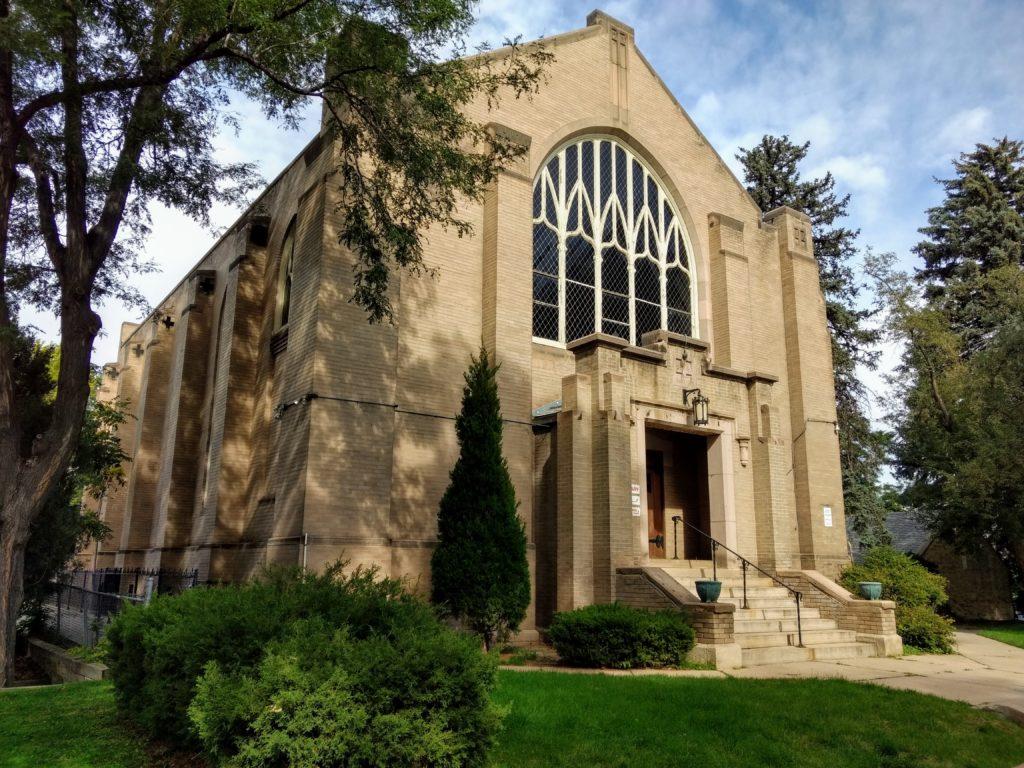 Warren Church on Aug. 29, 2019. (Donna Bryson/Denverite)