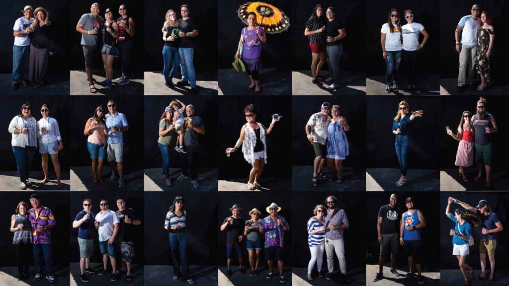 Most of the people we met at Suave Fest, by the future site of Raices Brewing, Sept. 14, 2019. (Kevin J. Beaty/Denverite)