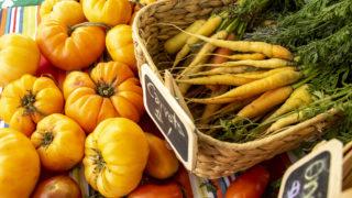 Veggies for sale at the Denver Botanic Gardens' Sun Valley Farm Stand off the South Platte River Trail, Sept. 27, 2019. (Kevin J. Beaty/Denverite)