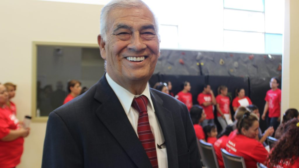 Ruben Valdez in 2015. Photo courtesy of Denver Public Schools.