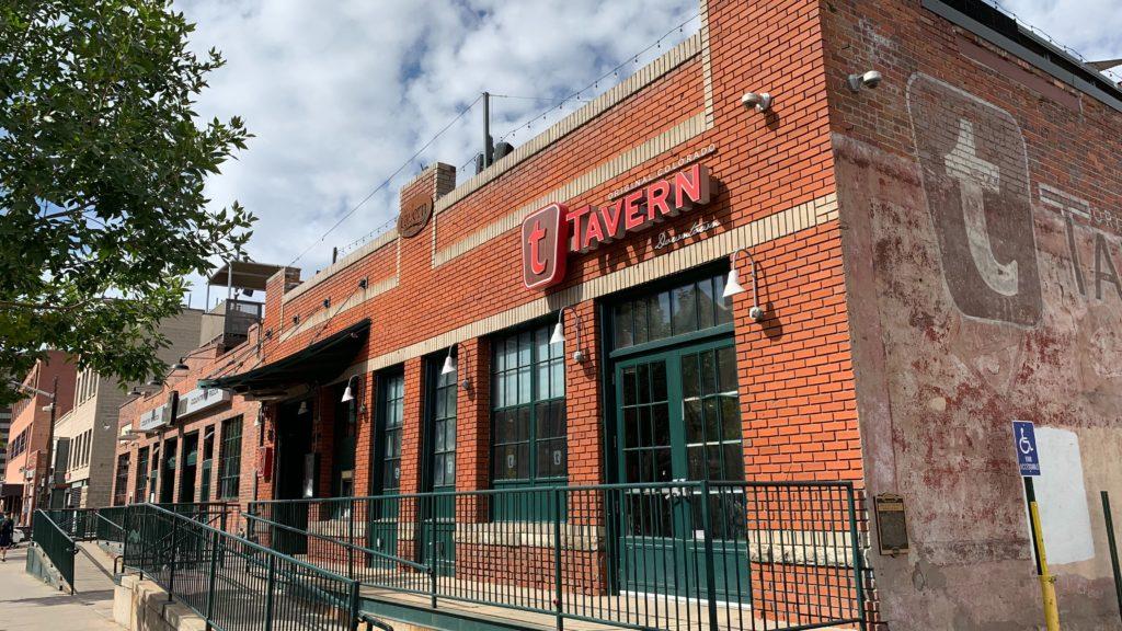 Outside Tavern's downtown location on Wednesday, Oct. 9, 2019, in Denver. (Esteban L. Hernandez/Denverite)