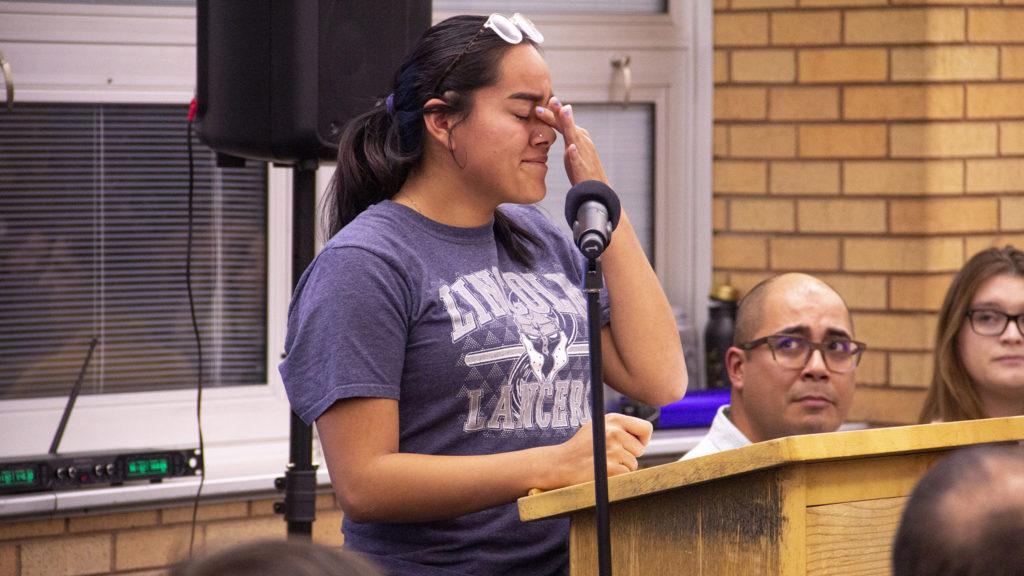 Lincoln High School on Monday, Nov. 4, 2019, in Denver. (Esteban L. Hernandez/Denverite)