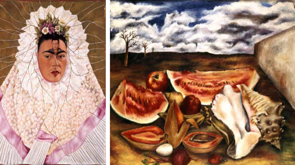 Work by Frida Kahlo and María Izquierdo. (Courtesy: Denver Art Museum)