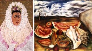 Work by Frida Kahlo and María Izquierdo. (Courtesy: Denver Art Museum)