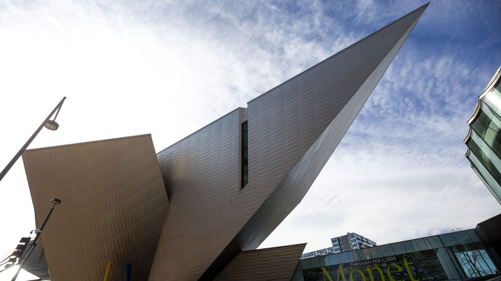The Denver Art Museum, Nov 13, 2019. (Kevin J. Beaty/Denverite)