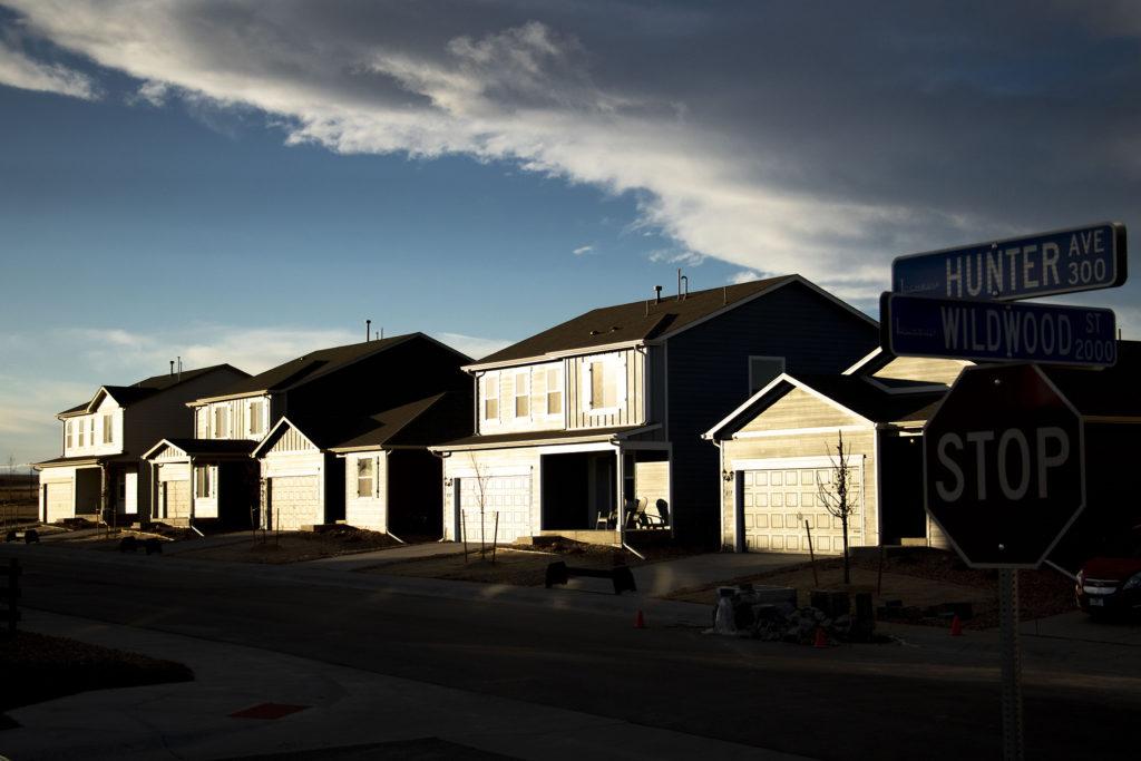 Mele Lavaka's subdivision in Lochbuie, Colorado. Nov. 28, 2019. (Kevin J. Beaty/Denverite)
