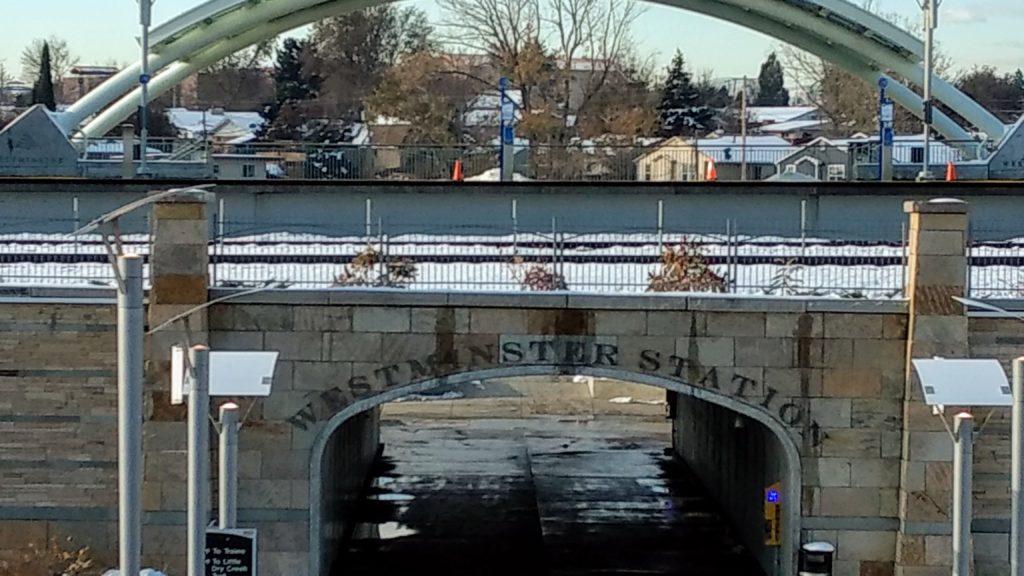 Westminster Station on Nov. 1, 2019. (Donna Bryson/Denverite)