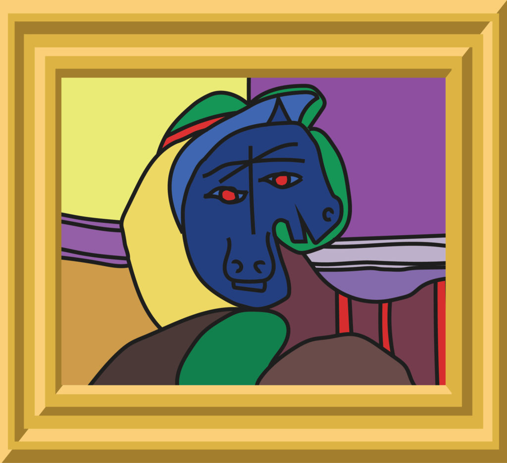 (Pablo Picasso and Kevin J. Beaty)