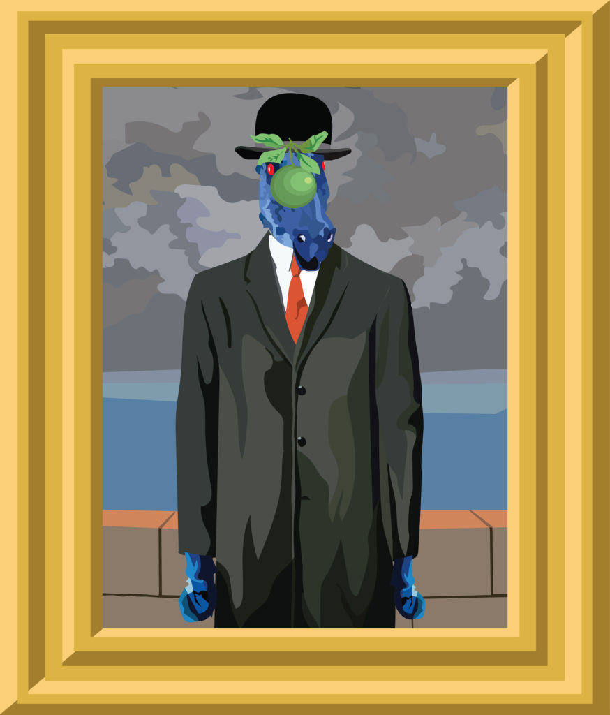 (René Magritte and Kevin J. Beaty)
