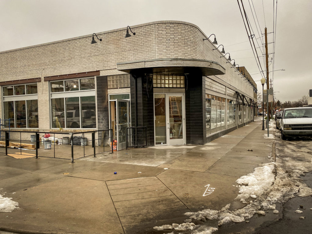 The new Chook Chicken location. (Dan Fogarty)