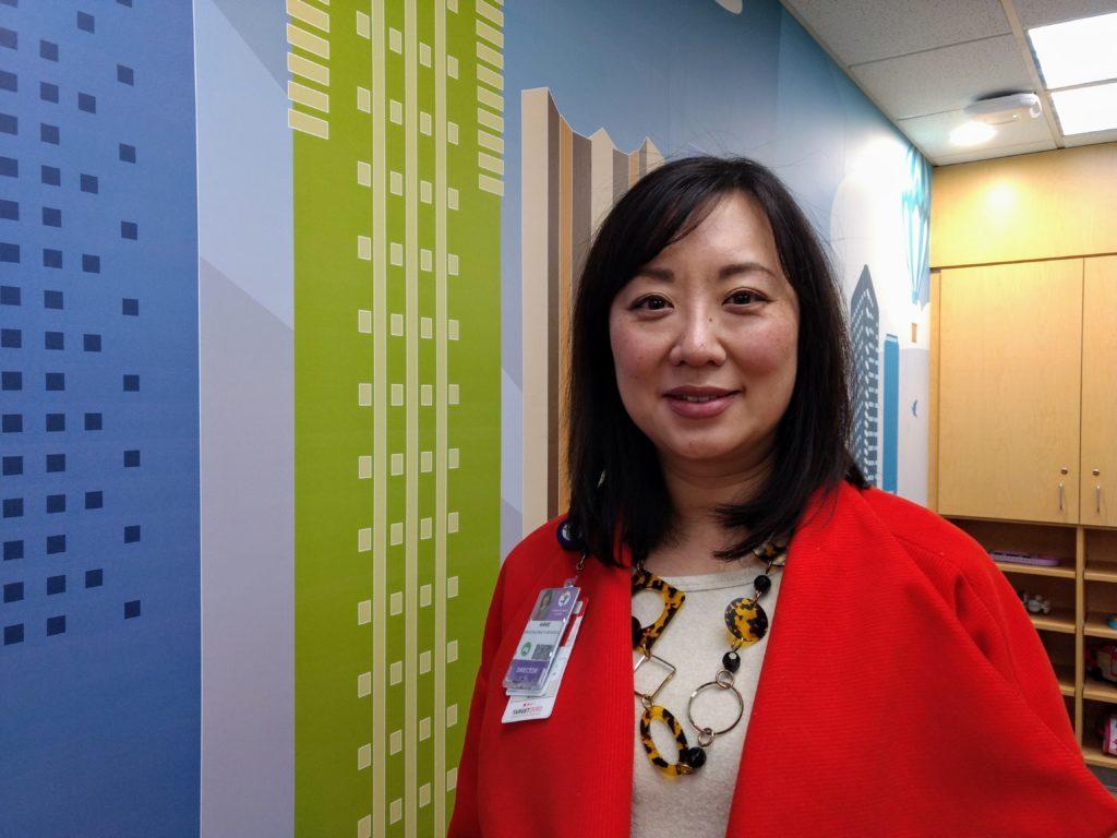Annie Lee at the Children's Colorado Health Pavilion on Dec.5, 2019. (Donna Bryson/Denverite)