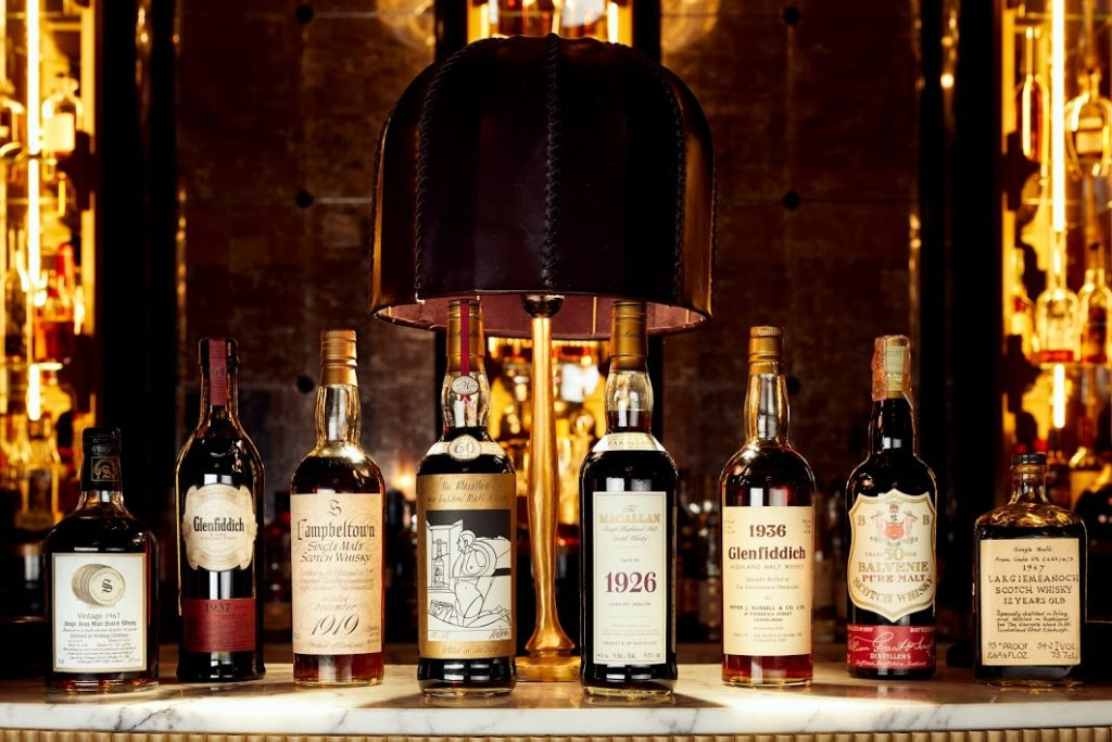 Some of the scotch whisky from Richard Gooding's private collection, set to be auctioned off next year. (Courtesy of Whisky Auctioneer)