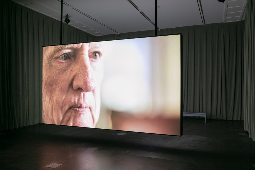 "A still from the movie screening at the ""Flora"" exhibit at MCA Denver. (Photo courtesy of MCA Denver/Wes Magyar)"