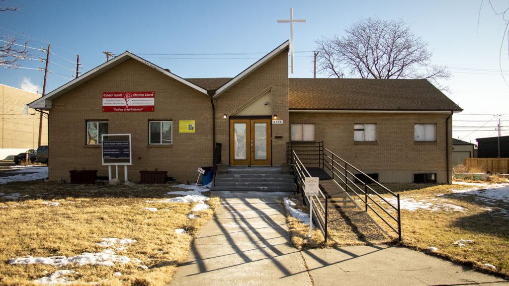 Calvary Temple Christian Church, Sunnyside. Jan. 3, 2019. (Kevin J. Beaty/Denverite)