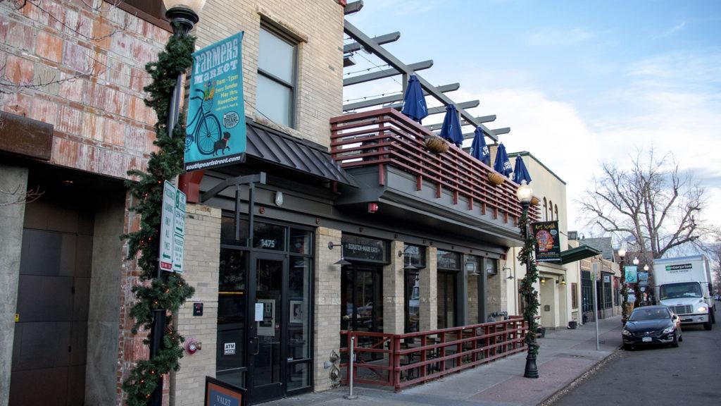 The now-closed Tavern Platt Park on South Pearl Street, Jan. 9, 2020. (Kevin J. Beaty/Denverite)