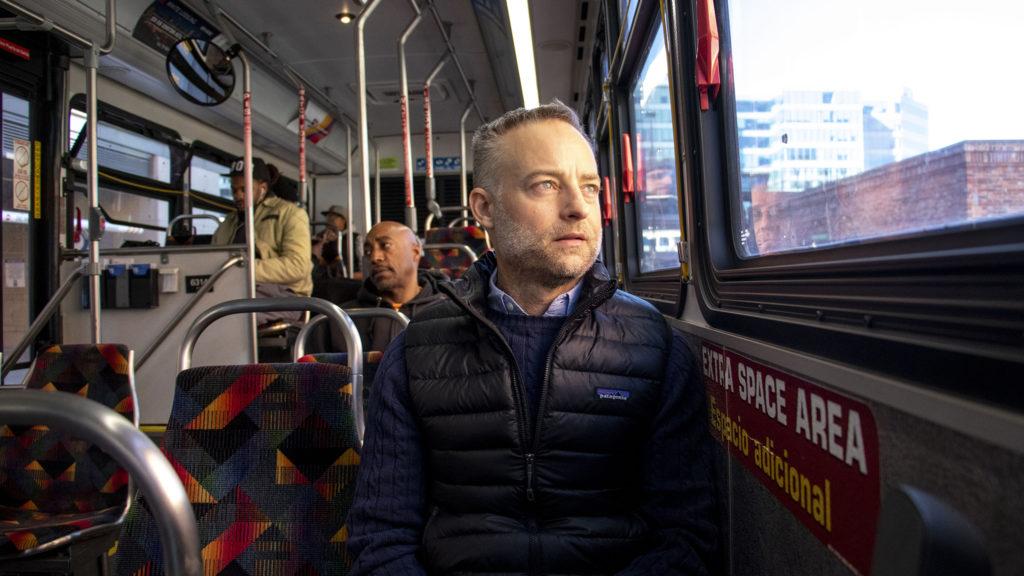 Andy Bosselman poses for a portrait. Jan. 14, 2020. (Kevin J. Beaty/Denverite)