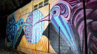 A mural by Katy Casper in Lakewood. Jan. 14, 2020. (Kevin J. Beaty/Denverite)