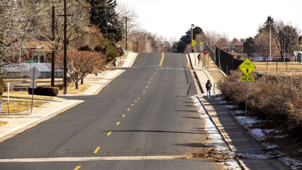 Virginia Avenue in Washington Virginia Vale, Jan. 23, 2010. (David Sachs/Denverite)