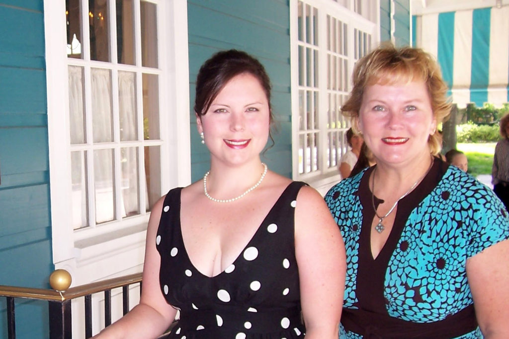 Alexis Bounds and her mother, Peggy Boardman. (Courtesy: Peggy Boardman)