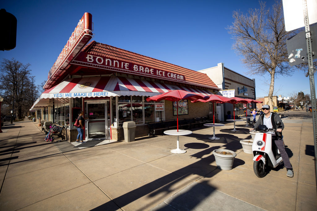 Bonnie Brae Ice Cream, Jan. 25, 2020. (Kevin J. Beaty/Denverite)