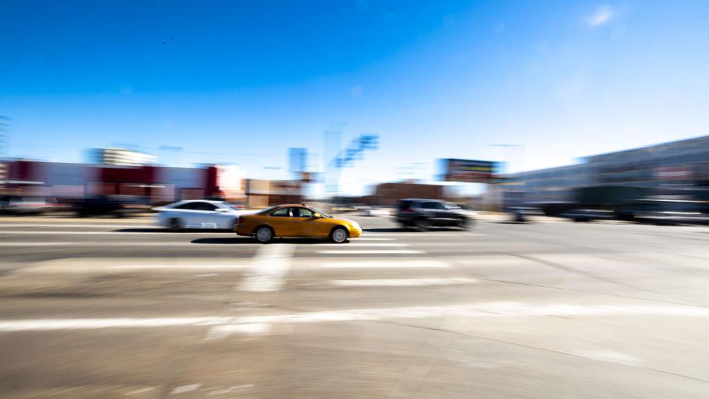 Evans Avenue and Colorado Boulevard, Jan. 25, 2020. (Kevin J. Beaty/Denverite)