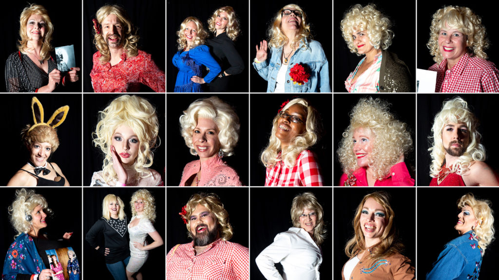 Everyone we met at Dolly Day Denver at the Oriental Theatre, Jan. 26, 2020. (Kevin J. Beaty/Denverite)