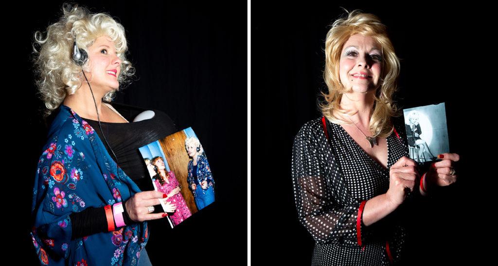 Nikole Strickler and Anjanette Douglass. Dolly Day Denver, Jan. 26, 2020. (Kevin J. Beaty/Denverite)