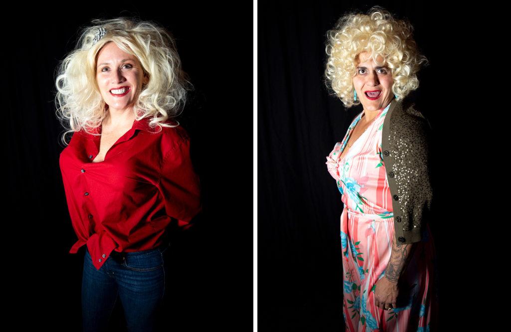 Maggie Spencer and Anna Castano. Dolly Day Denver, Jan. 26, 2020. (Kevin J. Beaty/Denverite)