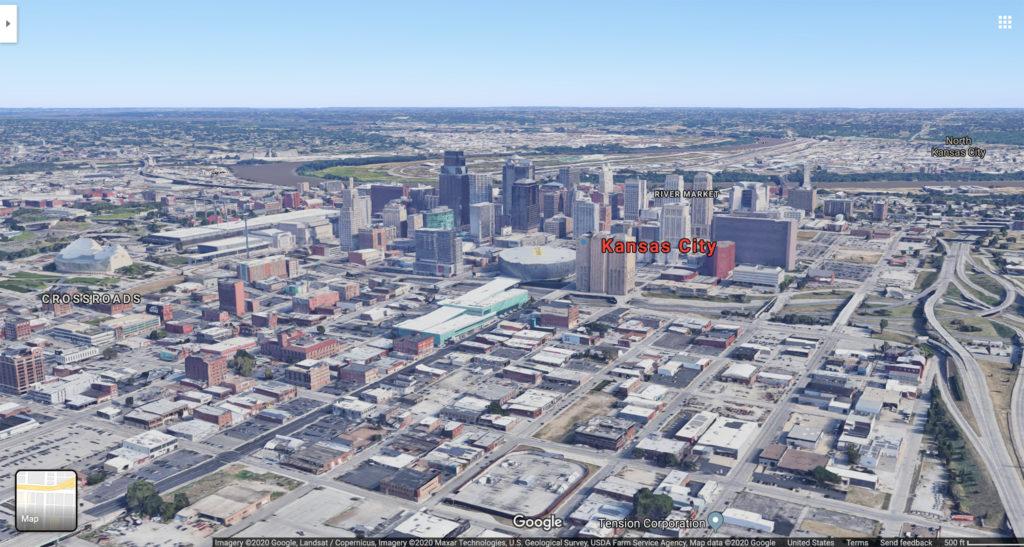 Kansas City. (Source: Google Maps)