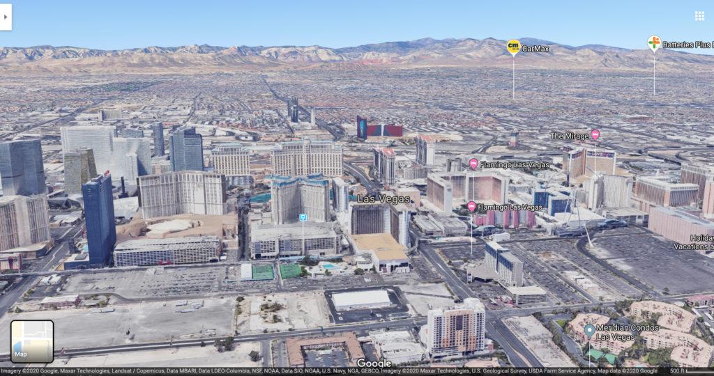 Las Vegas. (Source: Google Maps)