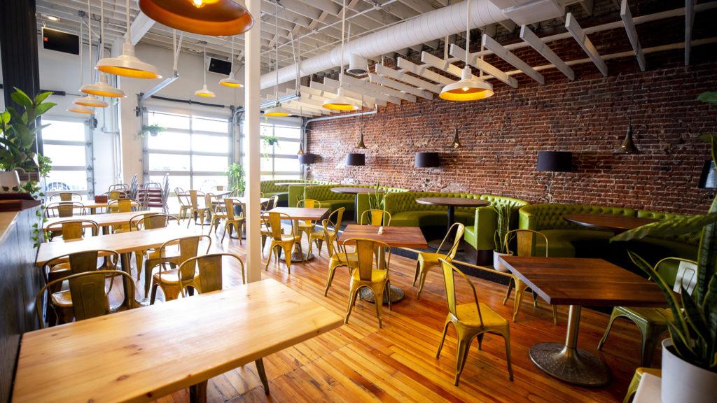 Jive Kitchen & Bar's new space on Broadway. Jan. 31, 2020. (Kevin J. Beaty/Denverite)