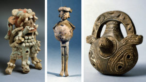"Artwork from the upcoming exhibit ""Rhythm and Ritual: Music of the Ancient Americas"" on display at Museo de las Americas. (Photos courtesy of Denver Art Museum)"