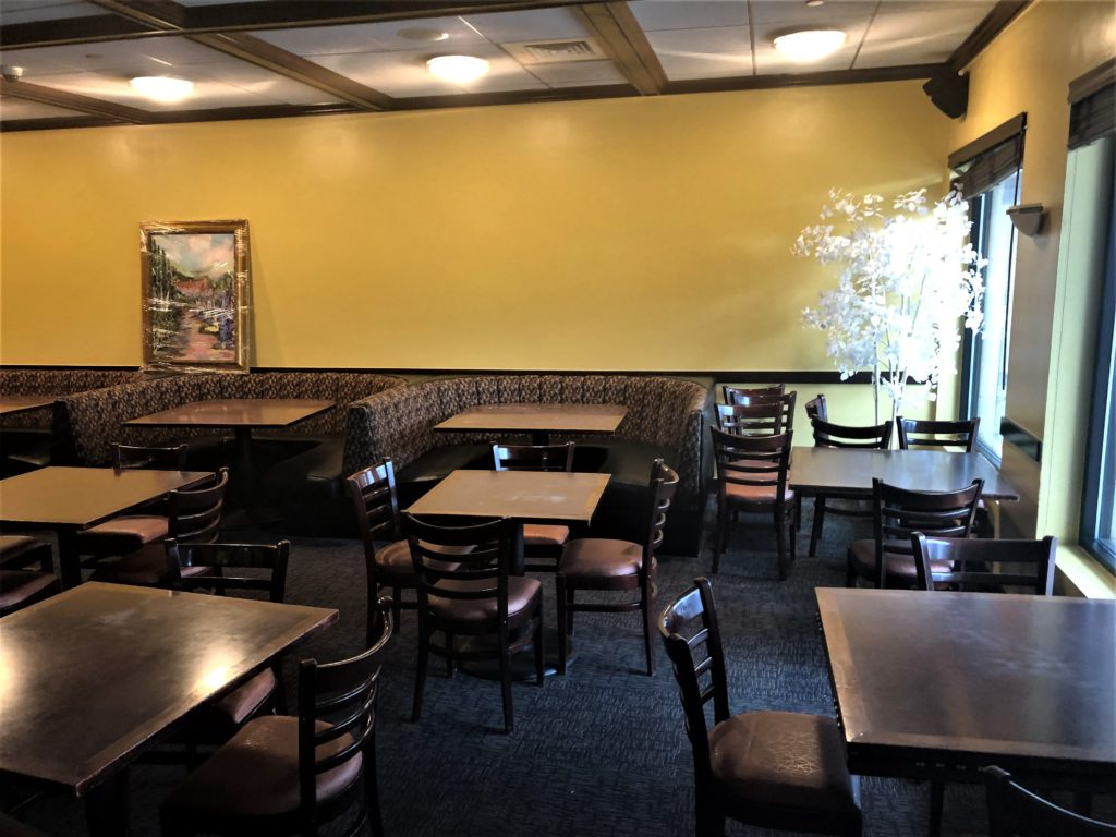 The one-room dining room at Bistro Colorado will contain about 50 seats. (Paul Albani-Burgio/for Denverite)