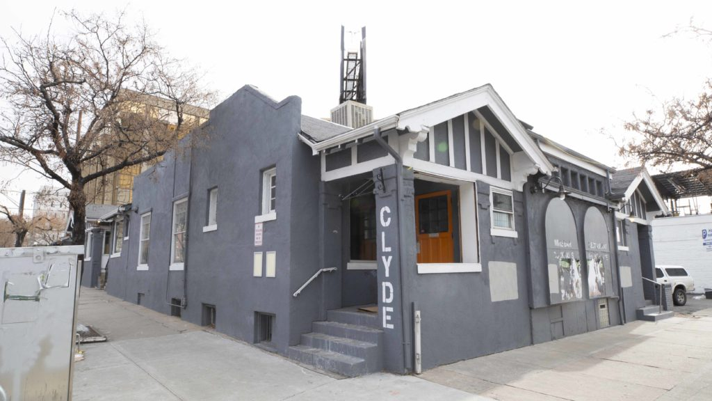The Harm Reduction Action Center's forthcoming location on Capitol Hill near Lincoln Avenue on Monday, Jan. 13, in Denver. (Esteban L. Hernandez/Denverite)