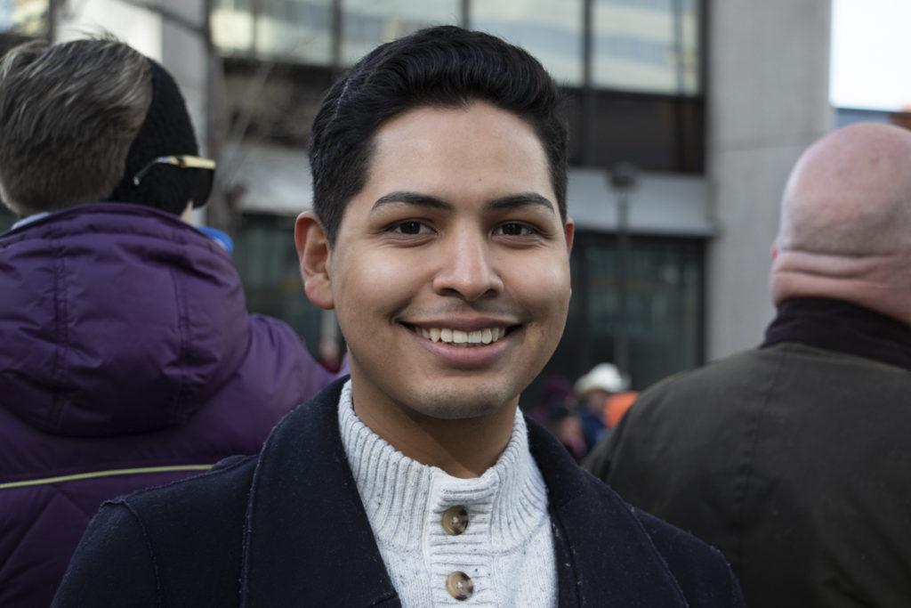 Chris Mendez, 25. (Lindsay Fendt/Denverite)