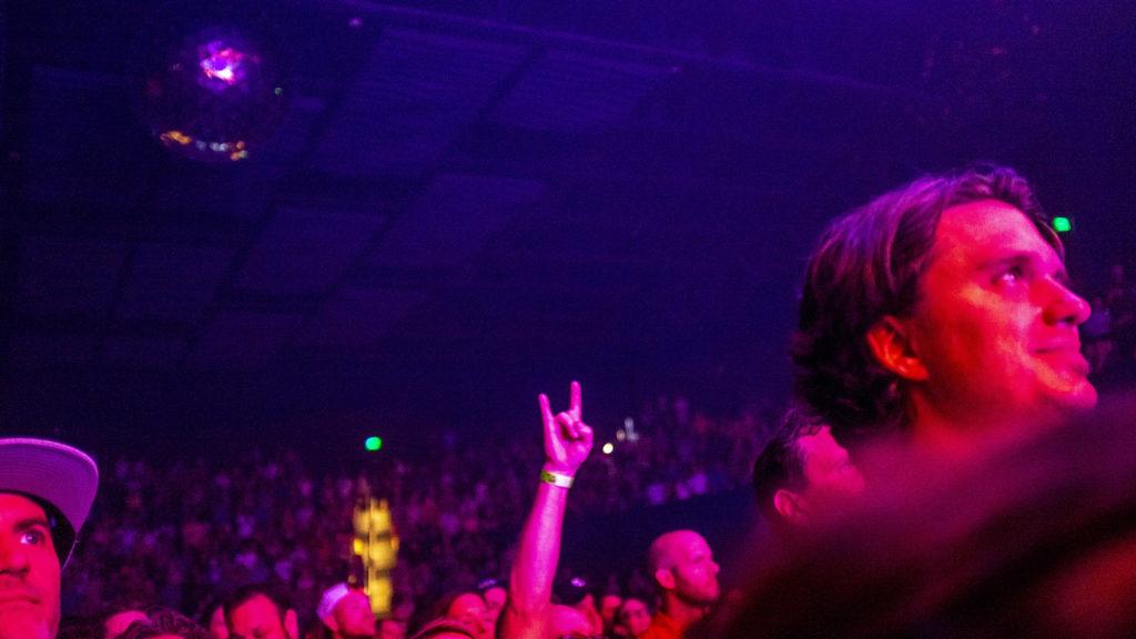 Trombone Shorty plays the Mission Ballroom, Aug. 12, 2019. (Kevin J. Beaty/Denverite)