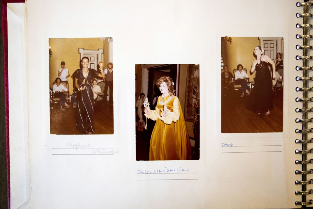A photo album presented to the Gay Community Center of Colorado in 1978. History Colorado Center, Feb. 3, 2020. (Kevin J. Beaty/Denverite)