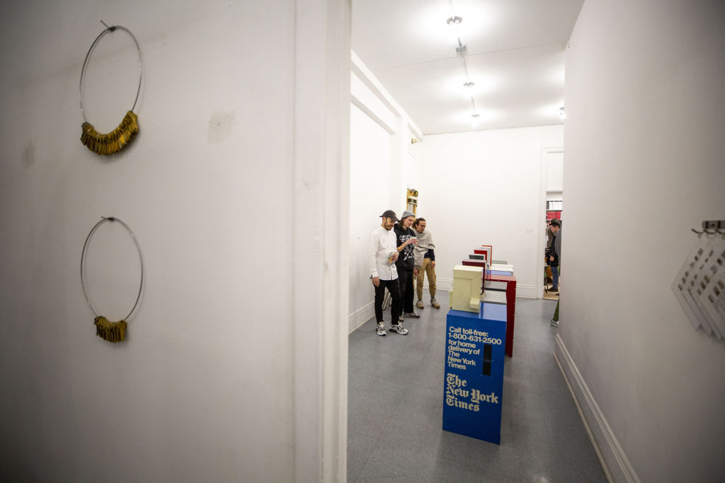 The Dikeou Collection has re-opened for an exhibition of Devon Dikeou's work, Feb. 20, 2020. (Kevin J. Beaty/Denverite)