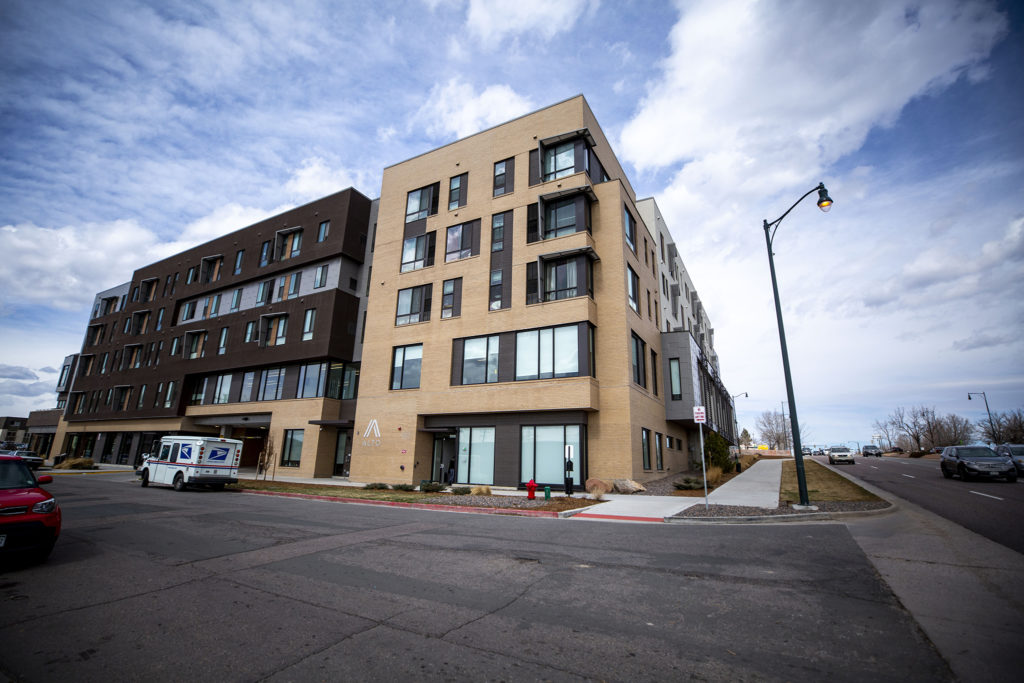The Alto at Westminster at 71st Avenue and Federal Boulevard. March 10, 2020. (Kevin J. Beaty/Denverite)