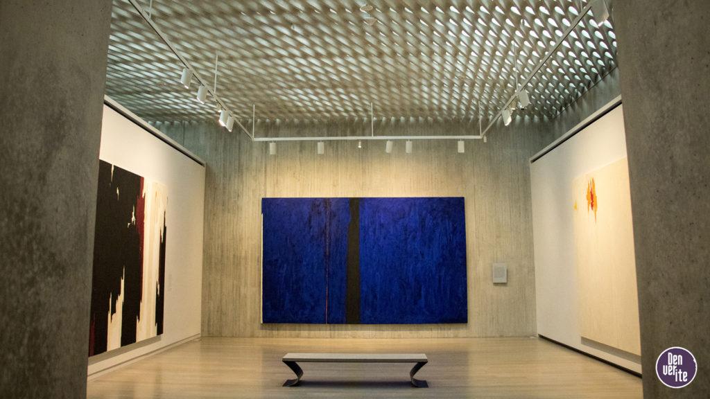 Inside the Clyfford Still Museum, Oct. 23, 2018. (Kevin J. Beaty/Denverite)