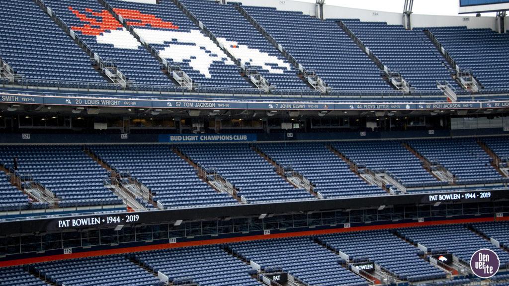 Inside Mile High Stadium, June 18, 2019. (Kevin J. Beaty/Denverite)