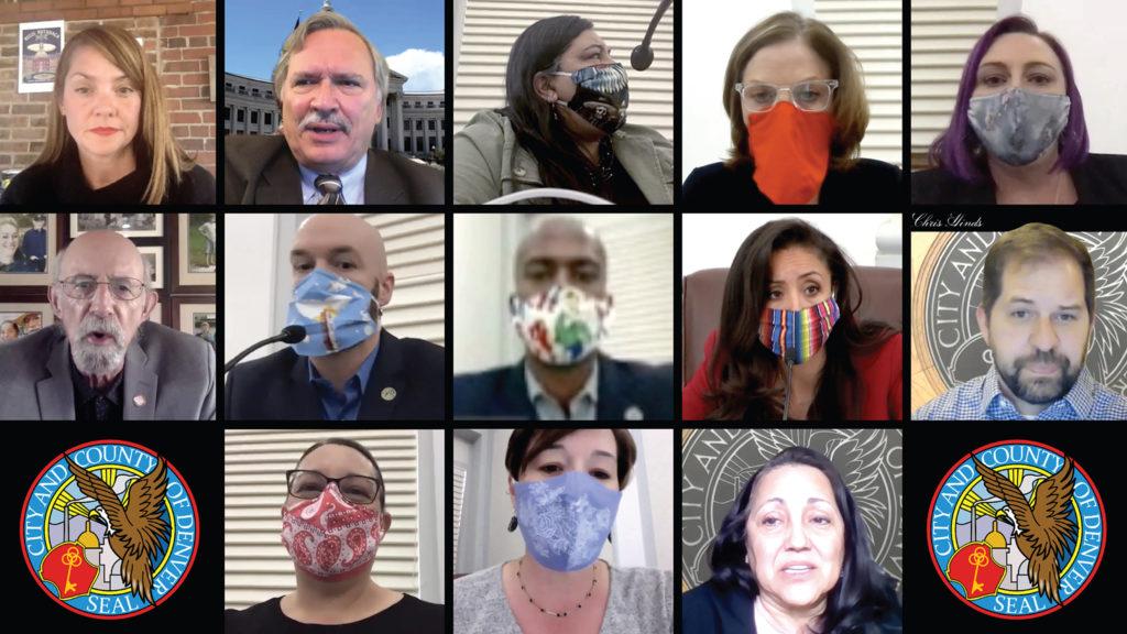 Denver City Council goes COVID virtual.