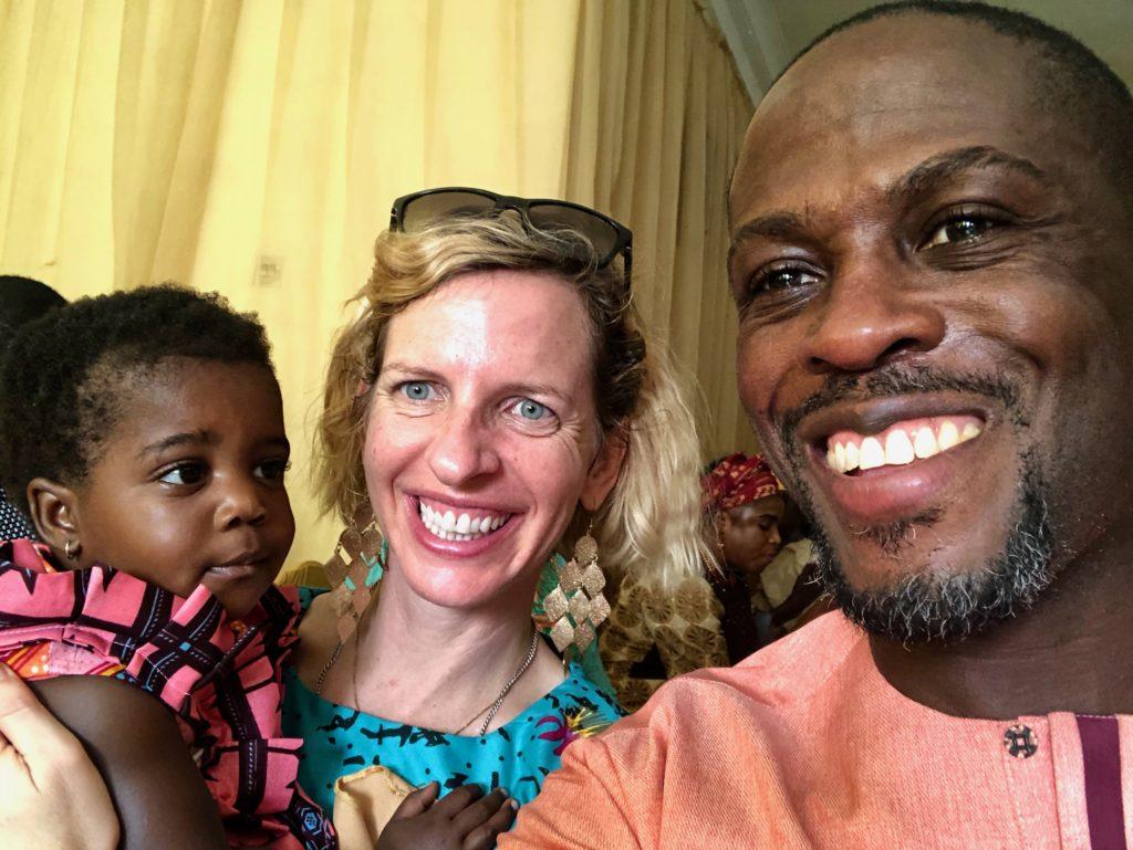 Adebambo Alli and his wife Robin Alli Gallite with their daughter Adenike-Rae Alli in a family photo. (Courtesy Robin Alli Gallite)