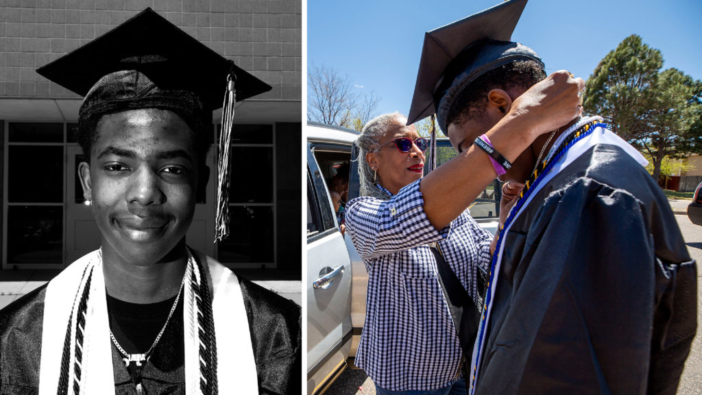 Dwayne Floyd Jr. May 8, 2020. (Kevin J. Beaty/Denverite)
