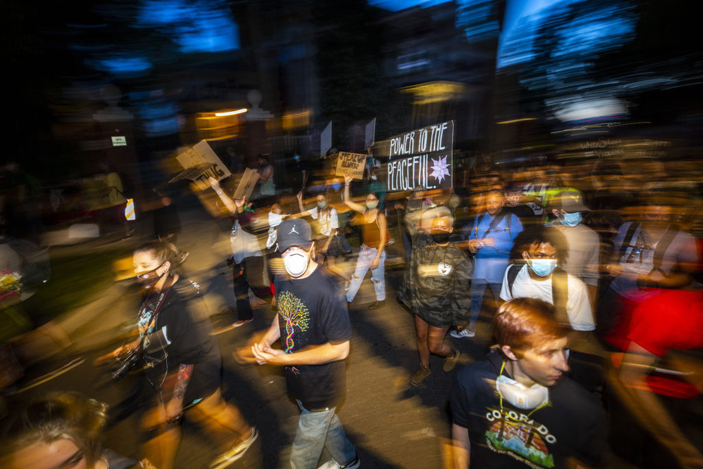 Protests against police brutality continued on Saturday, June 7, 2020. (Kevin J. Beaty/Denverite)